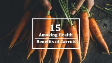 Photo of Amazing 15 Health Benefits of Carrots